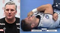 Irriteret Nikolaj Jacobsen: Vi har haft for mange skader - vores medicinske stab kæmper hvert minut