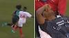 DIREKTE RØDT: Liverpool-spiller SMADRET af franskmand - rulles fra banen på båre