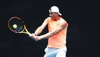 Ryggen plager stadig Nadal kort før Australian Open