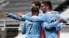 Vildt opgør: Manchester City fejrer mesterskabet med sejr i målfest