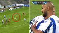 Sidste søm i kisten: Lyngby-keeper fanget i den forkerte ende af banen - Jebali sikrer OB overlevelse