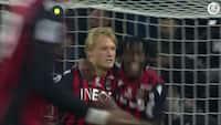 Danskerkasse! Dolberg scorer 10. ligamål for Nice - se 1-1-scoringen mod Monaco her