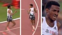 'Det vil gå verden rundt' - løber fejrede sejr og verdensrekord, men han manglede en omgang