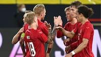 Yussuf Poulsen sikrer uafgjort i EM-test mod Tyskland