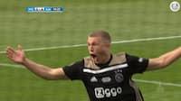 Se målet her: Rasmus Nissen Kristensen netter i Ajax' pokaltriumf
