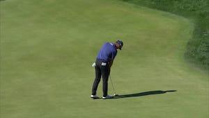 Her går det helt galt: Golfstjerne seks-putter i gigantisk nedsmeltning og udgår af US Open