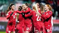 Magtdemonstration! Danmark smadrer Georgien 14-0 i EM-kvalifikationen