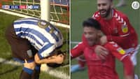 'Nej, nej, nej!': Championship-angriber brænder kæmpechance - og så scorer Charlton