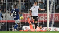 Kasper Dolberg sparker Nice til tops med to mål