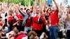 Hele Danmark bag jer: Landsholdet fik flot afsked før rejse til Baku
