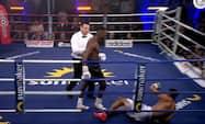 Tysk supertalent marcherer videre - stopper mexicaner i bokseopvisning i Hamburg