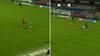 Helt vild situation: Esbjerg-spiller bliver skadet i sprint - så laver forsvarsspiller bizart selvmål