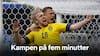 Tæt på 1/8-finalerne: Straffesparksmål sørger for svensk sejr over Slovakiet