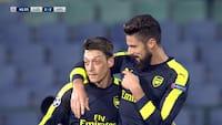 Fra 2-0 til 2-3: Nyd alle målene fra Arsenals vilde comeback