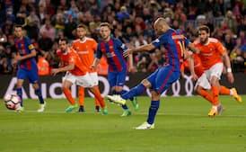 Det bedste ved Mascheranos sjældne mål: Vidunderlig reaktion fra Luis Suarez