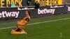 Jubel på Molineux: Silva udligner til 1-1 efter genial hæl-assist