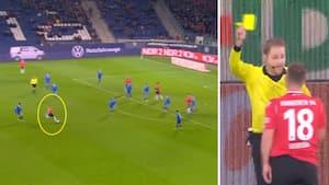 Årets mål i tysk fodbold bliver annulleret af VAR - men hvad I ALVERDEN har dommeren gang i?