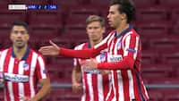 Atletico-udligning! Lækker kombination spiller Joao Felix fri til 2-2-kasse - se det her