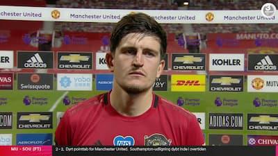 Ærgerlig Maguire efter overtidsfiasko: 'Vi havde masser af chancer til at dræbe kampen'