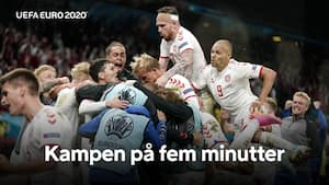 Den er hjemme: Danmark er klar til 1/8-finalen efter storsejr!