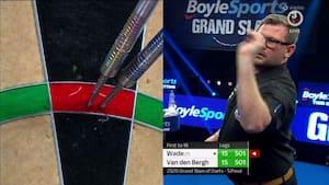 James Wade klar til finale efter gyser og 31 legs mod van den Bergh - se afgørelsen