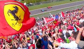 Tifosi, brutale V8-motorer og legendariske Schumacher - nyd billederne af senest, der blev kørt F1 på Imola