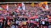 Liverpool-fan skubbede tilfældig mand i springvand i Barcelona - nu hiver han bukserne af vagt uden for Anfield