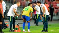 Uheldet fortsætter: Neymar udgår med skade i testkamp