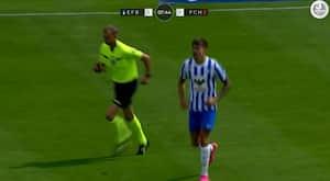 To mål på syv minutter i Esbjerg – debutmål til E. Sørensen