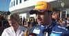 Sainz efter femteplads: Et af de bedste løb i år - se interview med både Norris og Sainz her