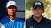 Vild statistik! Woods og Mickelson færdige i årets sidste major