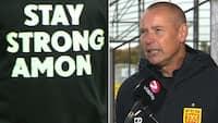 Dybt berørt FCN-træner: 'Jeg har det dårligt - der lød et suk i lokalet'