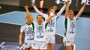 Anne Mette Hansen og Györ spiller sig i CL-finale