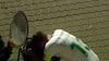Ægte fighter: Gense Grønning brække sig i en skraldespand - med tyve minutter tilbage af kampen