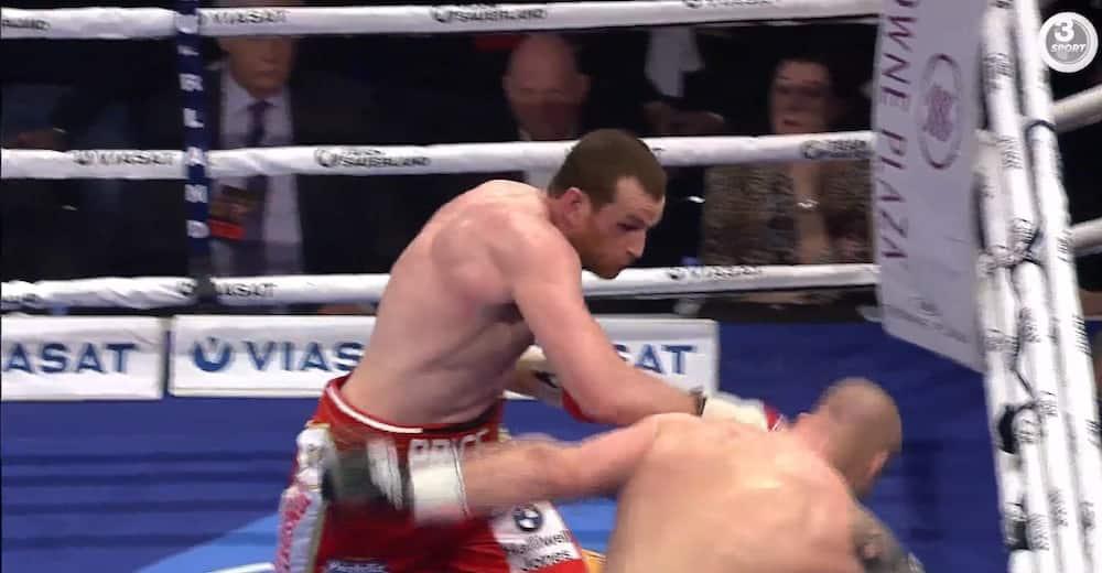 Uhyggelig højrehånd! - David Price sender Ondrej Pala i gulvet med kraftfuldt hook i Esbjerg - lørdag er han i ringen igen