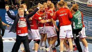 Historisk aften for dansk håndbold - Se alt det bedste fra Aalborgs drama mod Flensburg