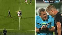 Tackler så hårdt, det kunne høres på tv: Men Viborg-spiller slipper med en påtale