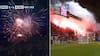 Pludselig brager det løs: Ajax-kamp afbrudt af kæmpe fyrværkeri-protest - se det her