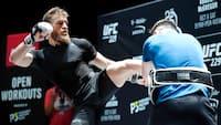 Træner om McGregor: Når han rammer 'Cowboy', går lyset ud