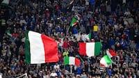 Regeringen i Italien giver grønt lys til EM-tilskuere