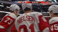 Se højdepunkter her: Frans Nielsen scorer i nyt nederlag til Detroit Red Wings