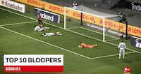 Serie 5 eller Bundesligaen? Se de ti sjoveste 'bloopers' fra forrige sæson her