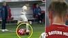 Så du det? Bayern München-stjerne stemplet i hovedet - blodet pibler frem