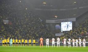 Rørende billeder: Bayern og Dortmund hylder afdøde Gerd Müller