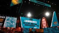 Så skete det: Her bliver Lawrence valgt først i draften - 'Den perfekte amerikanske atlet'
