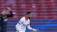 Sevillas ti mand bringer balance i opgøret - se 2-2-scoringen lige her