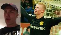 Rasmus Nissen hang ud med Haaland: 'Han arbejder hårdest af alle - selv med aftensmad er han kompromisløs'