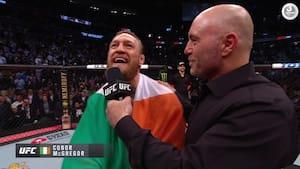 Rekordmageren McGregor skriver sig ind i historiebøgerne: 'Jeg er meget, meget stolt'
