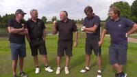 'Elkjær er en klog golfspiller': Elkjær og Kjær gav Grønborg og Thygesen en golflektion i foursome