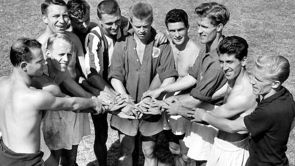 Tak til landsholdet der for 60 år siden samlede hele nationen foran tv og radio